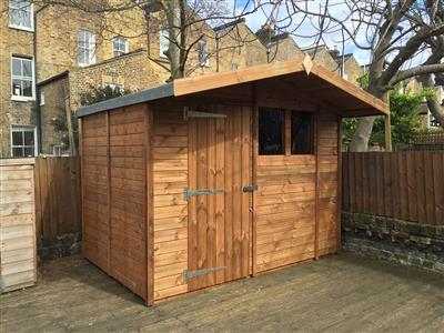 9x6 s2 beast wood garden shed - Garden Sheds 9x6