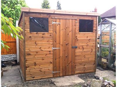 Bath garden sheds sheds in bath wooden sheds for Garden shed 9x7